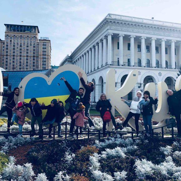Un voyage en Ukraine avec toute la tribu HN» [par Lydie]