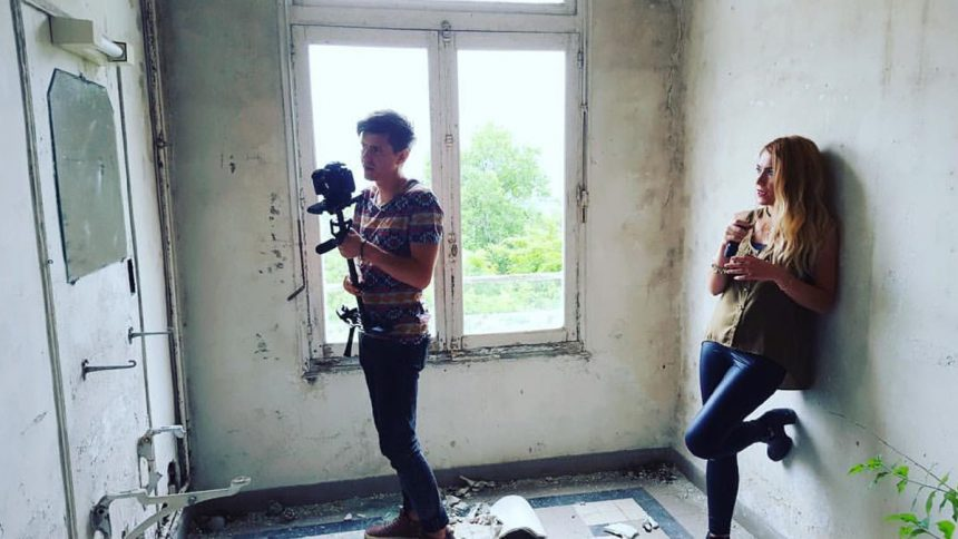Revolution video clip filming Heroic Nation