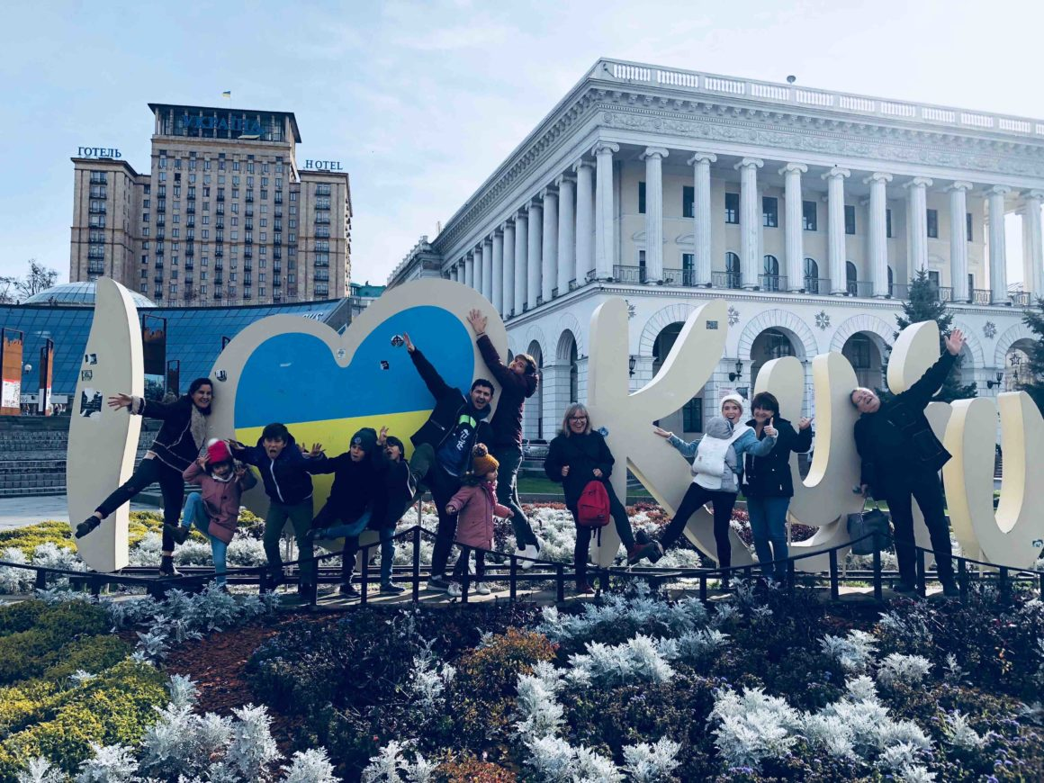 A trip to Ukraine with the whole tribe [by Lydie]